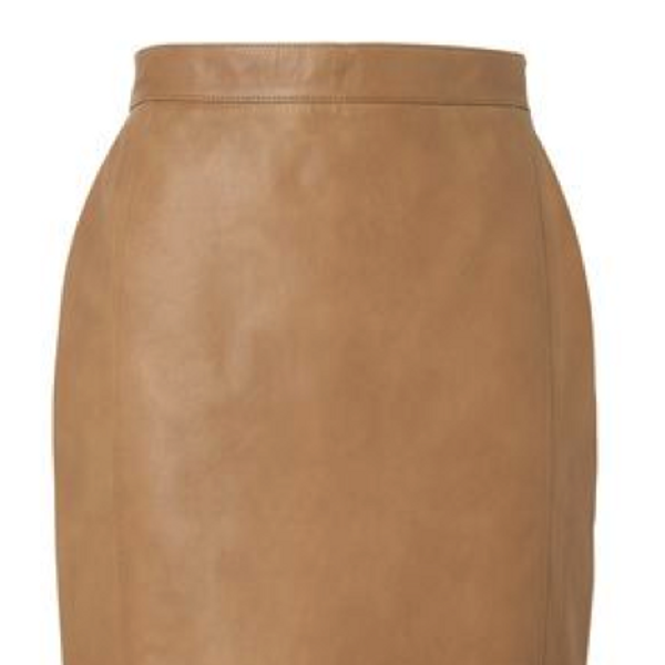 Jaeger Jaeger Leather Pencil Skirt