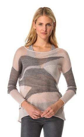 Helmut Lang Helmut Lang Merging Texture Sweater