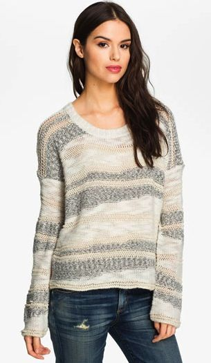 Ella Moss Ella Moss Simona Streaky Stripe Sweater