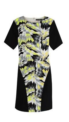Tibi Tibi-Isosceles Short Sleeve Dress