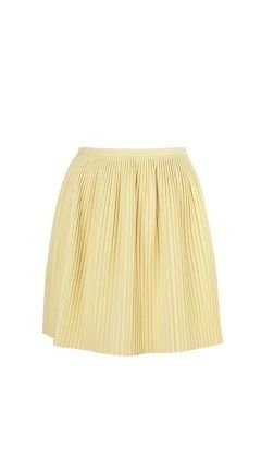 Tibi Tibi-Eniko Pleat Skirt