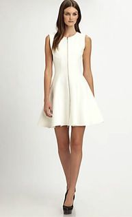 Theory WWSW Richie Fit Flare Dress