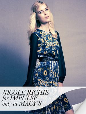 Nicole Richie for Impulse Only at Macy's