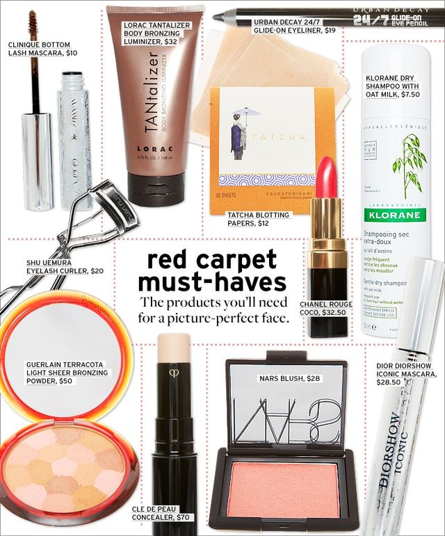 Red Carpet Essentials