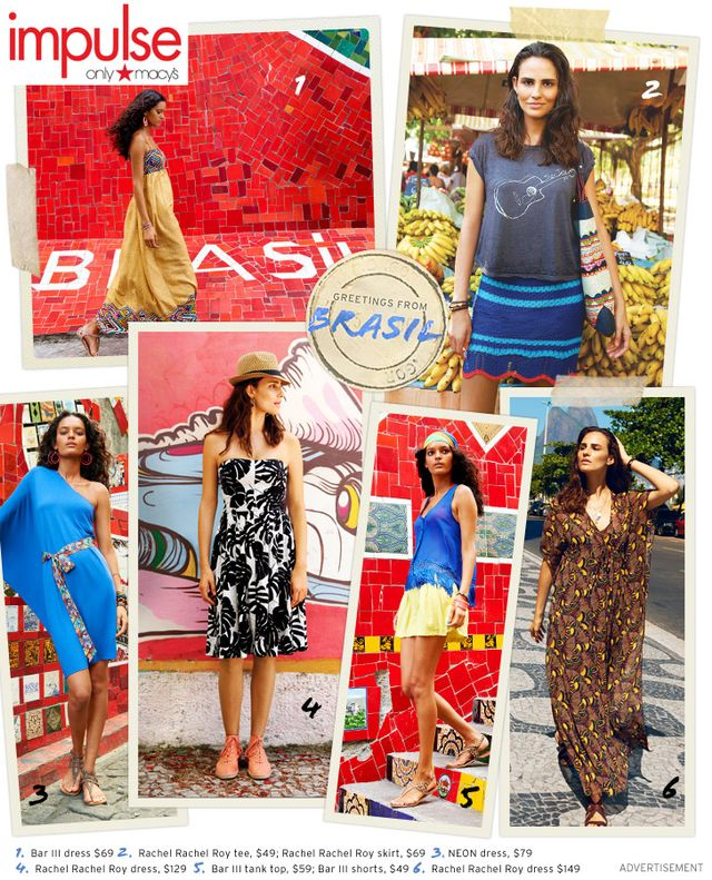 Brasil — The Magical Journey Continues, Only at Macy's