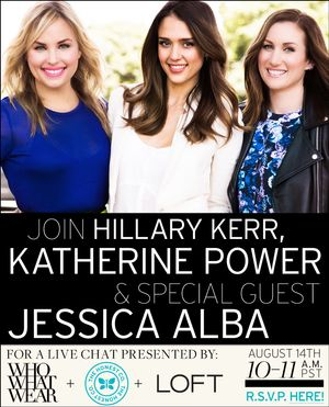 Today's Chat With Jessica Alba!