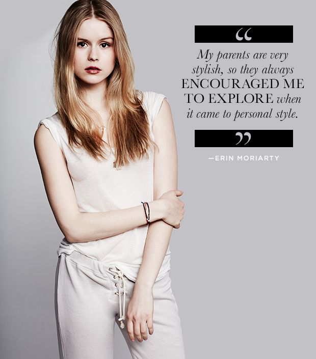 Get To Know Actress Erin Moriarty Our Favorite Fresh New Face Whowhatwear