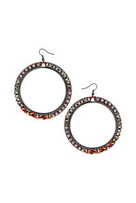 Topshop Friendship Rhinestone Earrings