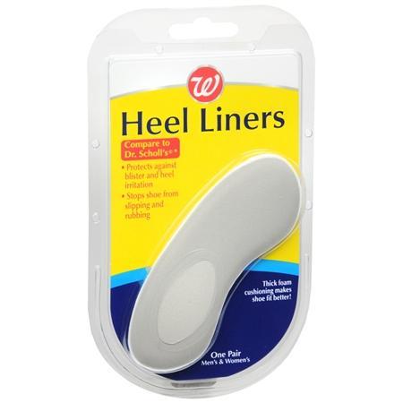 Wallgreens Heel Liners