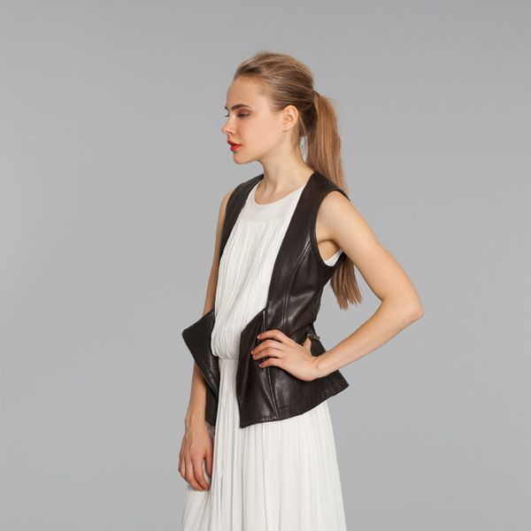 Marissa Webb Gina Leather Vest