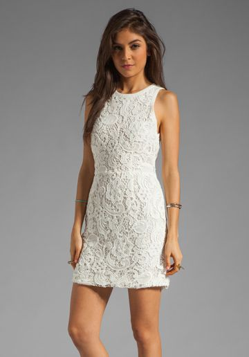 Dolce Vita  Mei Scroll Lace Dress