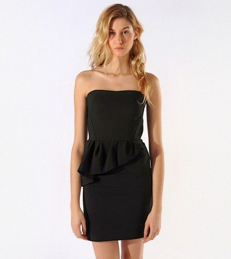 Maje Abraca Black Dress