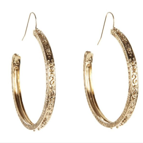 Bronze Mharaja Earrings Bidermann