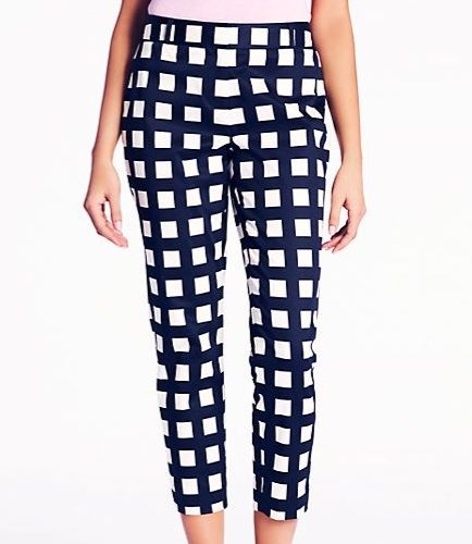 kate spade new york Checkered David Capri
