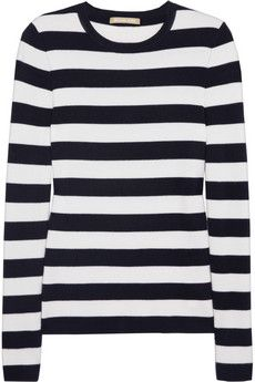 Michel Kors Striped Cashmere sweater