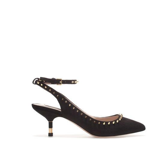 Zara Studded Sling Back