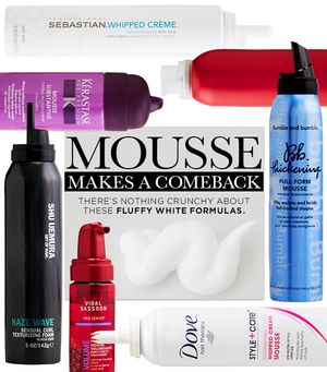 What Mousse Can Do For Your Hair