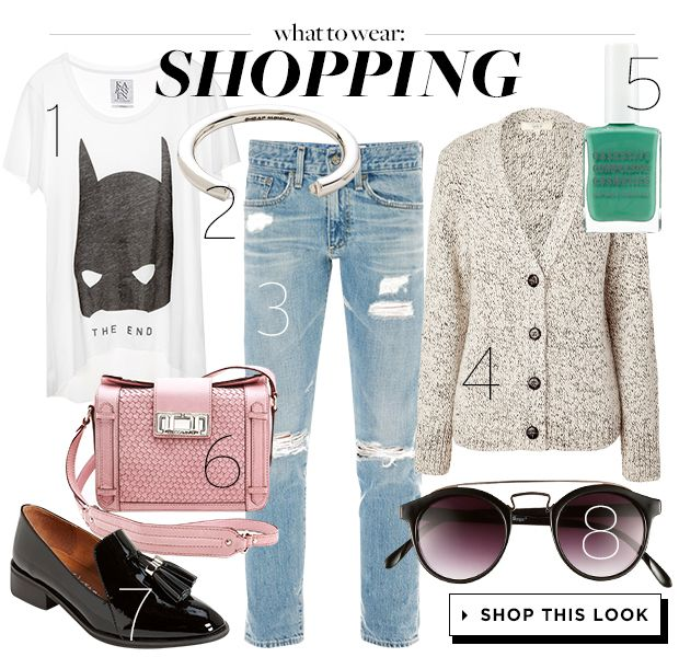 How To Look Cool and Stay Comfortable While Shopping