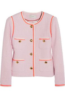 J.Crew  Amanda Cotton-Tweed Jacket