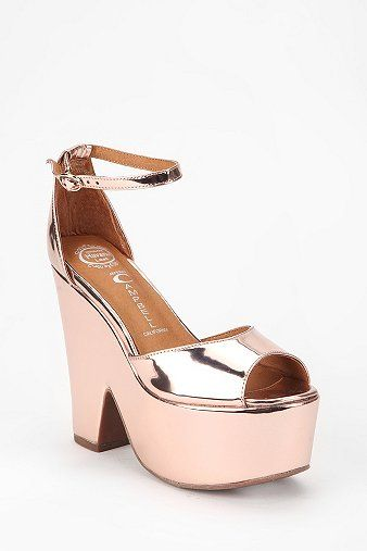 Jeffrey Campbell Brazen Split-Wedge Heels