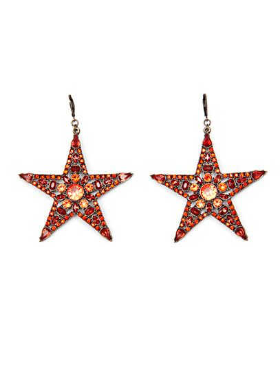 Mango Touch Star Earrings