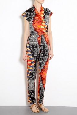 Tucker Cross Front Jumpsuit