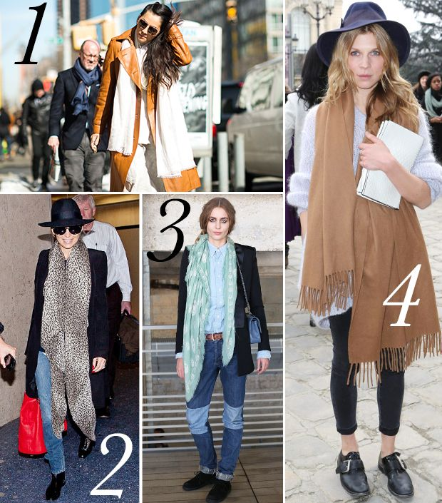 Try This Scarf Styling Trick For An Instantly Chic Look