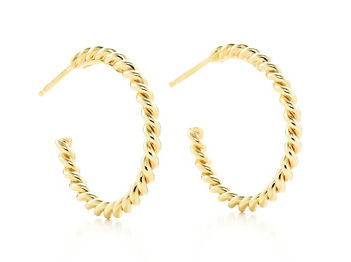 Tiffany & Co. Tiffany Twist Hoop Earrings