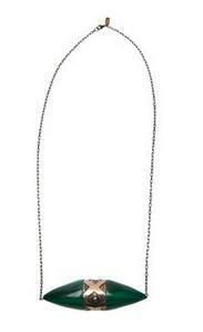 Pamela Love Pamela Love Ellipse Pendant Necklace