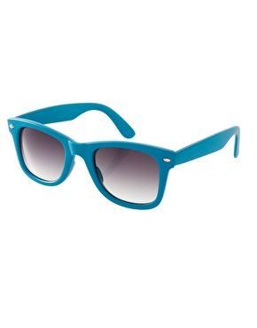 ASOS Blue Wayfarer Sunglasses
