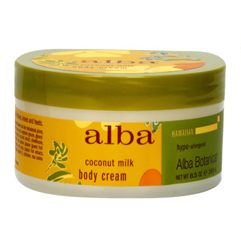 Alba Botanica Coconut Milk Body Cream