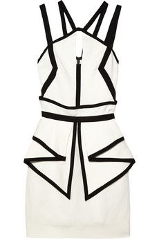 Sass & Bide  The Grand Scene Woven Peplum Dress