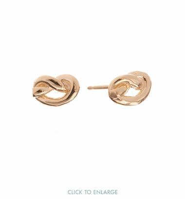 Ariel Gordon Love Knot Studs