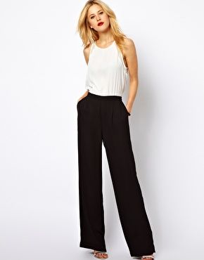 Mango  Sleek Tailored Jumpsuit