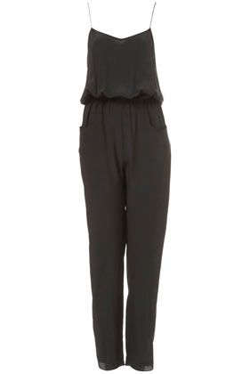 Topshop By Boutique  Silk Jumpsuit