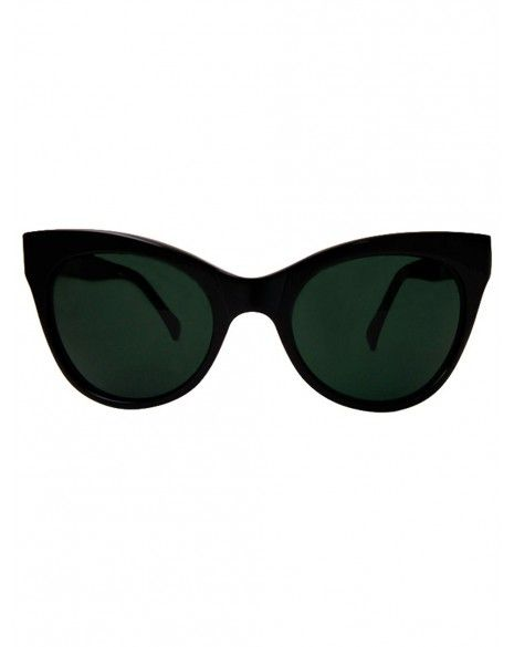 Norma Kamali  Square Cat Eye Sunglasses