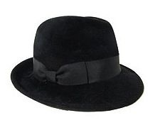 Hat Attack  Hat Attack Velour Wide Brim Fedora