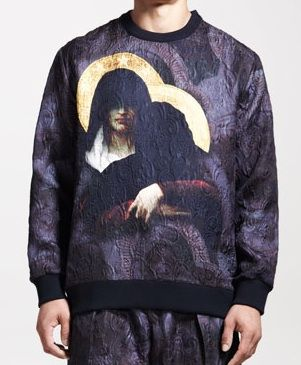 Givenchy  Jacquard Gangster Madonna Sweater