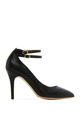 Mango Touch  Twin Ankle Strap Pump