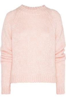 Christopher Kane Mohair-Blend Sweater