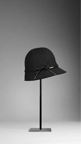 Burberry Burberry Bow Detail Cotton Gabardine Rain Hat
