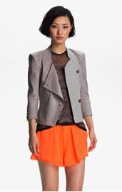 Helmut Lang Helmut Lang Glossy Linen Twill Jacket