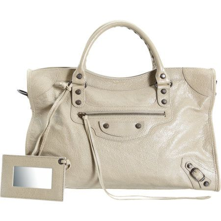 Balenciaga  Arena City Bag in Latte