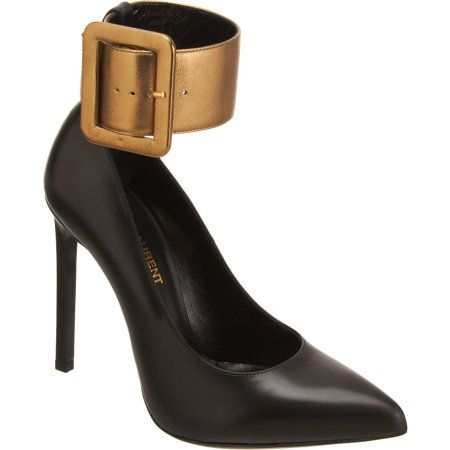 Saint Laurent Ankle Cuff Paris Pumps
