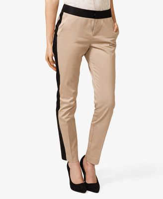 Forever 21  Colorblocked Straight Leg Pants