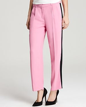 Diane von Furstenberg  Naples Soft Canvas Pants