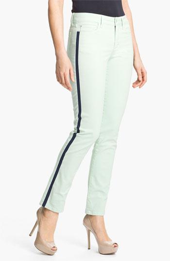 NYDJ  Sheri Tuxedo Skinny Stretch Jeans