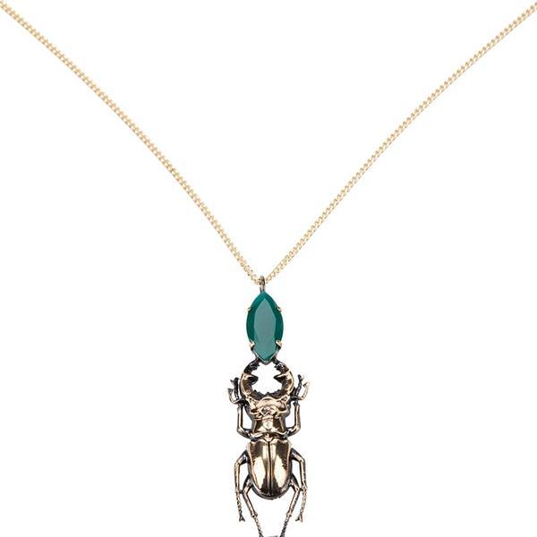 Iosselliani Stag Beetle Necklace