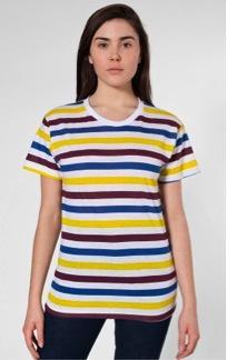 American Apparel American Apparel Unisex Stripe T-Shirt