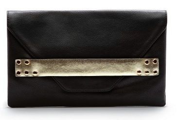 Mango  Mango Metallic Band Clutch